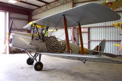 Single passenger Tiger Moth