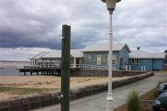 "Barwon Heads Boat Shed (Diver Dan's home in ""Seachange"")"